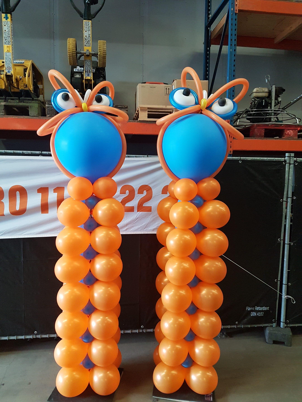 Uilen Ballon pilaar 41