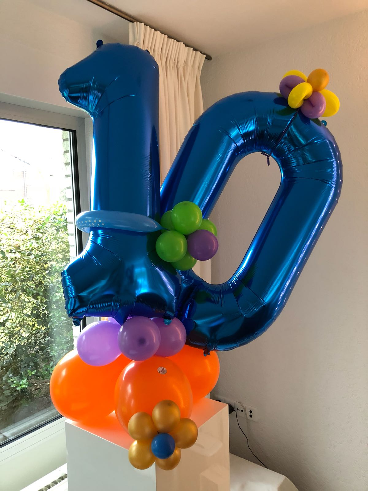 feestje 10 jaar