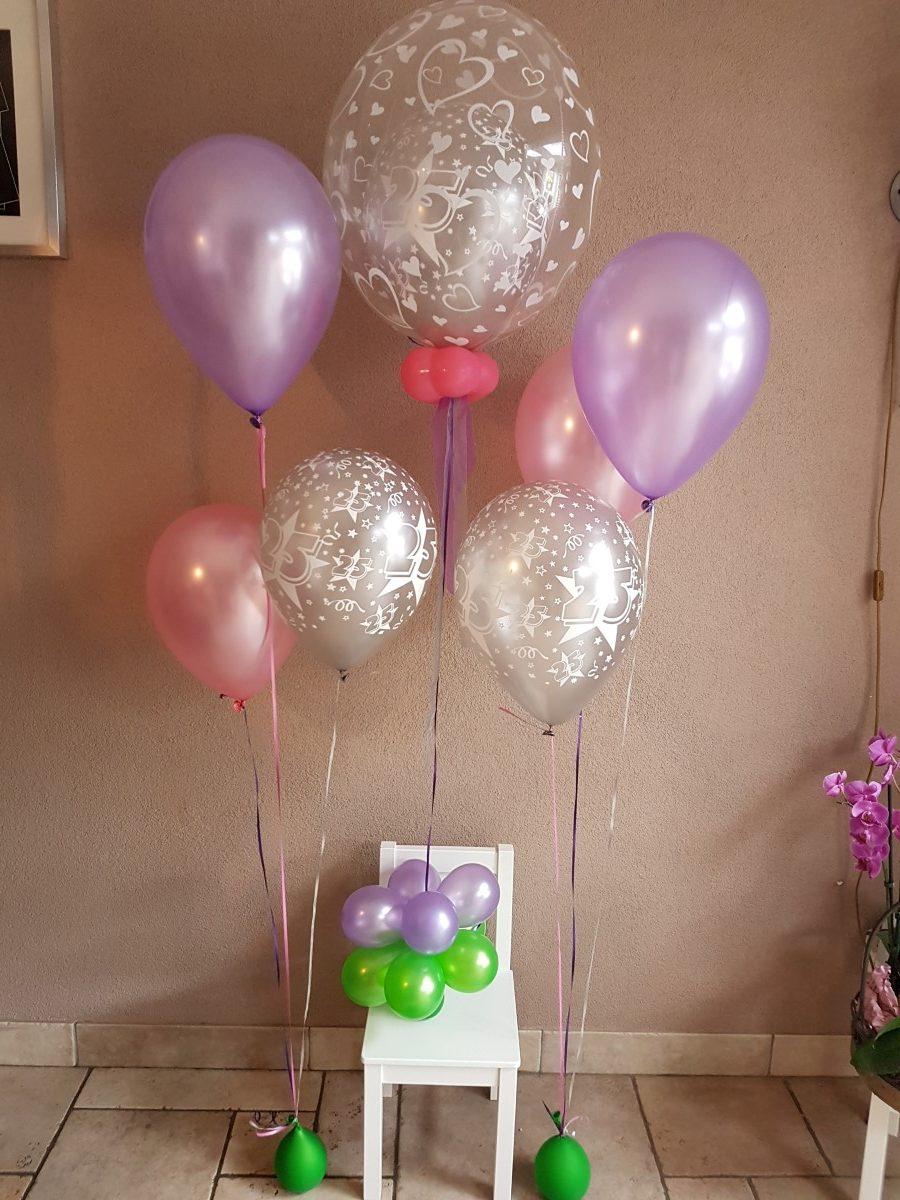 25 jaar ballonboeket 5