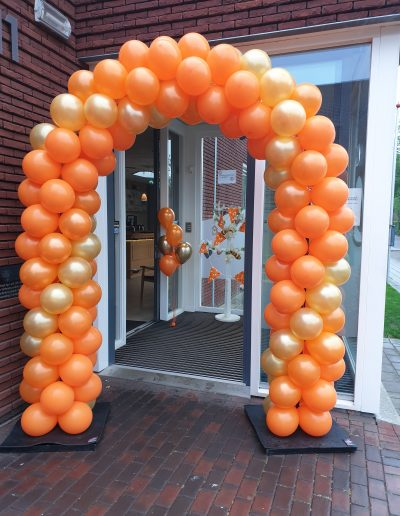 ballonboog oranje koningsdag