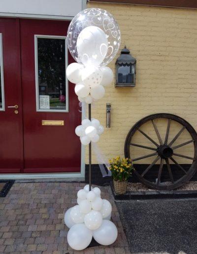 pilaar 10 bruids bubbles